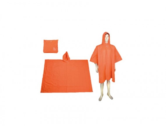 เสื้อกันฝน ค้างคาว แบบจราจร รุ่น RG-007 สีส้ม