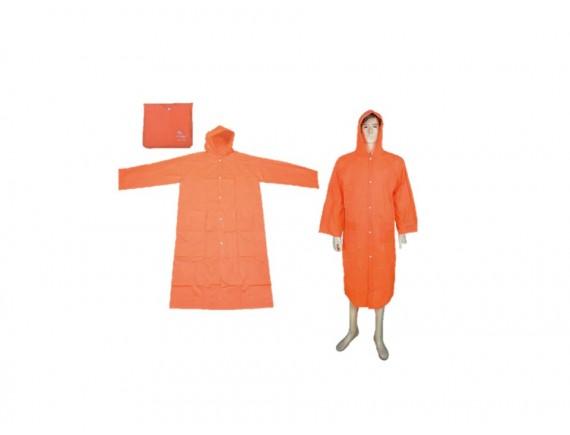 เสื้อกันฝน(ชุดโค้ท)แบบจราจร รุ่น 30-RG002 สีส้ม