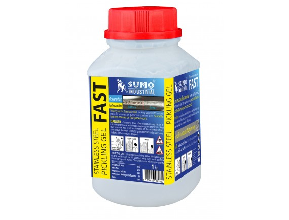น้ำยาลบรอยเชื่อมสแตนเลส 1000g SUMO (FAST)