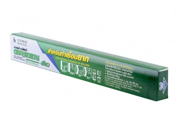 ลวดเชื่อมไฟฟ้า SUMO 2.6mm สีเขียว