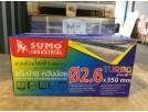 ลวดเชื่อมไฟฟ้า 2.6mm สีเทา (Turbo Plus)  SUMO