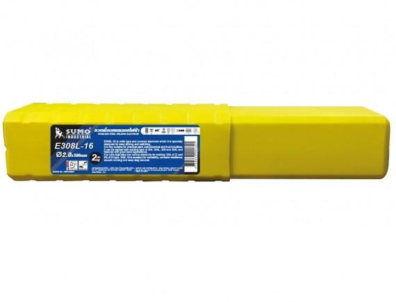 ลวดเชื่อมสแตนเลสไฟฟ้า รุ่น E308l 16 2 6x300mm Sumo