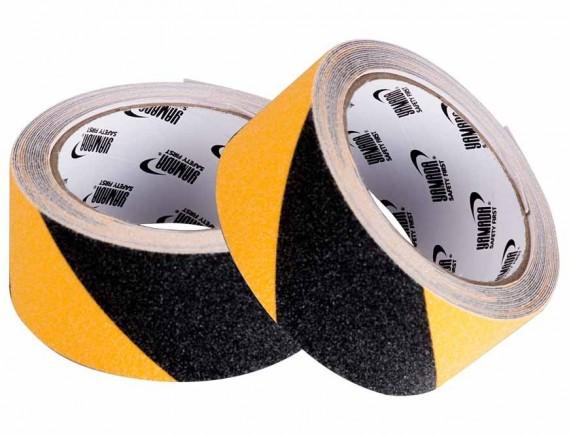 เทปกันลื่น สีเหลือง-ดำ 50mm x 5m YAMADA