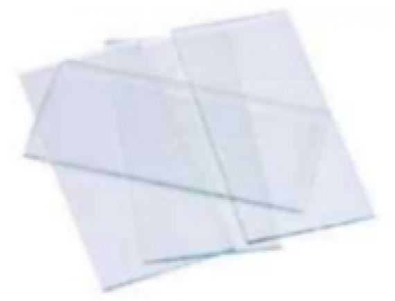 กระจกกันสะเก็ดสีใส(108x50x2mm)
