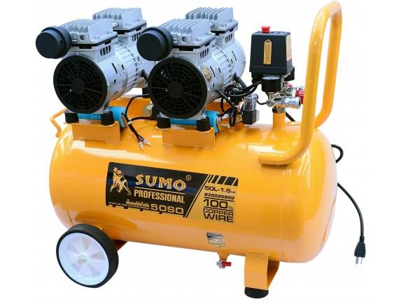 ปั๊มลมไร้น้ำมัน 3.0HP (50L) รุ่น 50SO SUMO