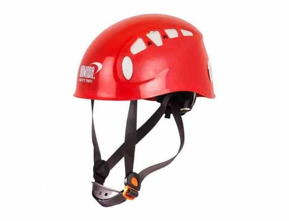 หมวกกันกระแทกสำหรับงานบนที่สูง ABS (สีแดง)