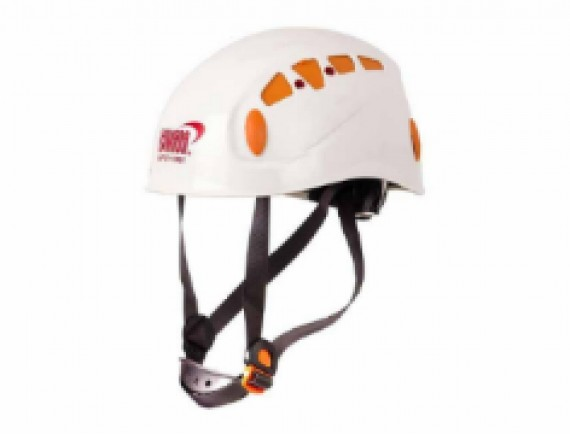 หมวกกันกระแทกสำหรับงานบนที่สูง ABS (สีขาว)