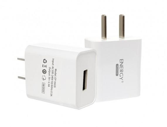 หัวชาร์จ Adapter สำหรับ T01 DC5V, 2.4A ENERGY